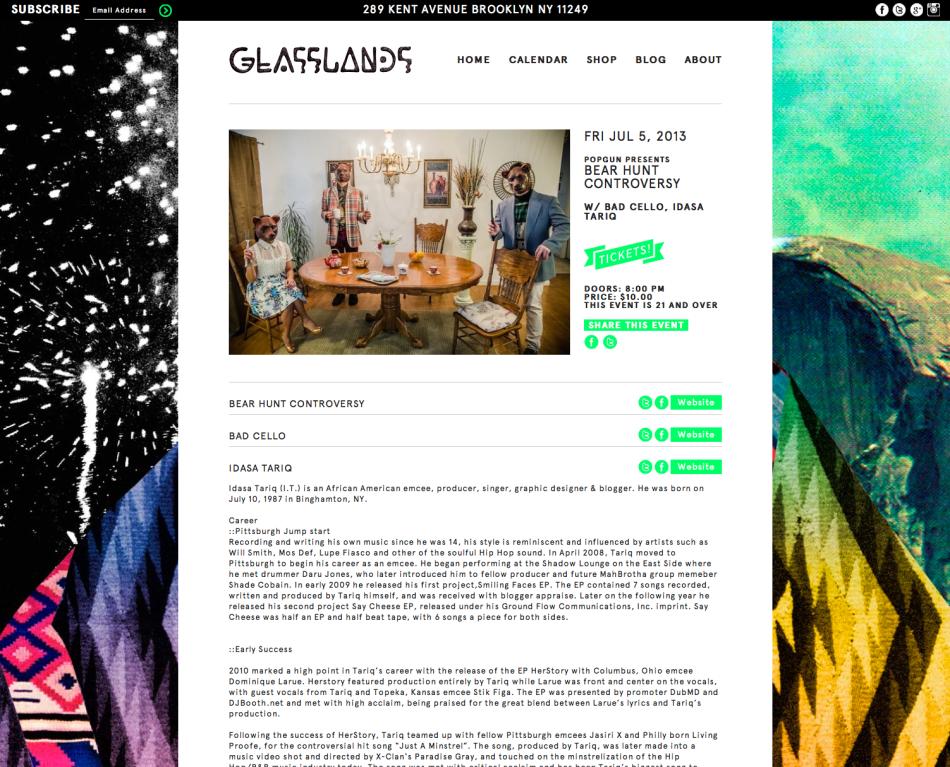 BHC LIVE @ Glasslands